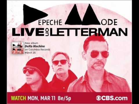 Depeche Mode - Soothe My Soul (Live on Letterman 2013)
