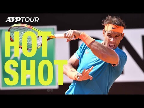 Hot Shot: Nadal Shows Why You Should NEVER Test His Forehand   Rome 2019