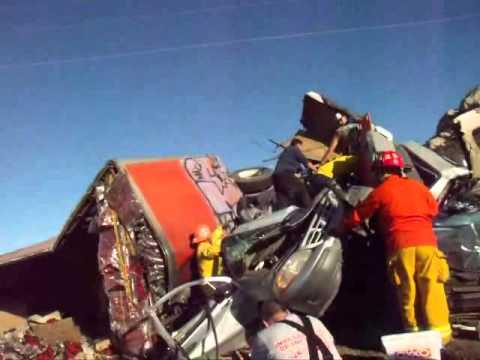 video #3 carambola carretera tecate mexicali varios muertos
