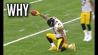 "NFL Funniest ""Why Are You Celebrating?"" Moments 