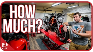 How much did it cost? [Wrecked Bike Rebuild Ep. 04 - Ducati Monster 1100]
