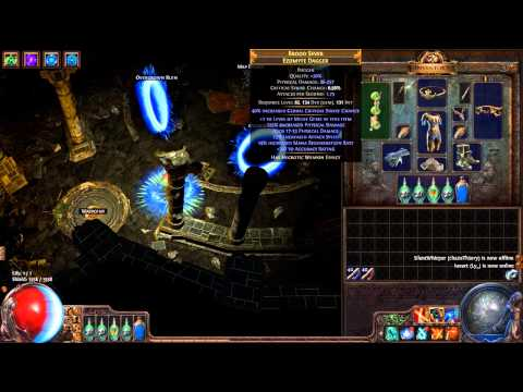 CI Crit Dagger Shadow Gameplay & Build - Path of Exile