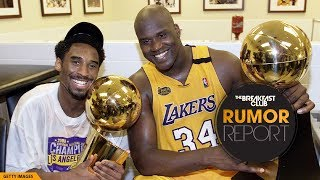 Kobe Bryant Says He Would Have Won 12 Rings If Shaq Wasn't So Lazy