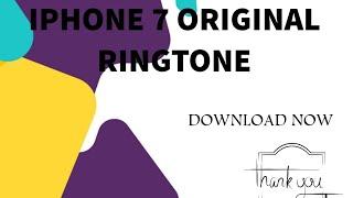 Iphone X plus original Ringtone|Download link below