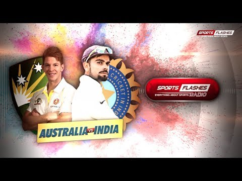 Live India vs Australia 1st Test DAY 2 #Cricket Match Commentary from stadium | #SportsFlashes