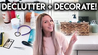 DECLUTTERING HACKS **HOME DECOR STORAGE IDEAS**