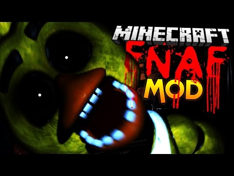 Minecraft Mods | FIVE NIGHTS AT FREDDY'S MOD! (FNAF) - Minecraft Mod Showcase