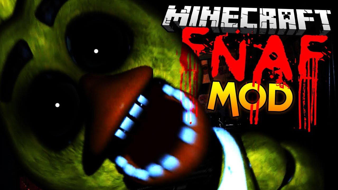 Minecraft mod five nights at freddy s mod fnaf minecraft mod