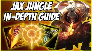 GUIDE ON HOW TO PLAY JAX JUNGLE IN SEASON 9! INCREDIBLE 1V9 CHAMPION - League of Legends