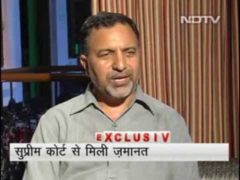 Mohammad Ahmad Kazmi NDTV Hindi interview after release