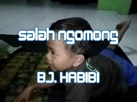 Video Anak Kecil Lucu Susah Ngomong BJ Habibi