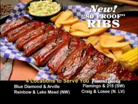 Famous Dave&#039;s Las Vegas - New &quot;80 Proof&quot; BBQ!