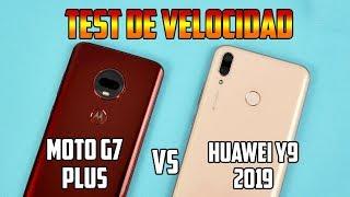 Huawei Y9 2019 vs Moto G7 Plus | TERRIBLE HUMILLACIÓN | Test de velocidad | Tecnocat