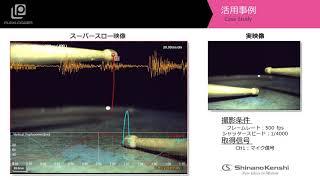 ハイスピードカメラ+データロガー「ドラムロール」