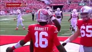 J.T. Barrett's Highlights vs. Bowling Green