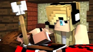 Minecraft song!! Psycho Girl 15 - Psycho Girl vs Hacker Song A minecraft Video with Song