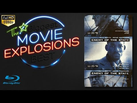 The Best Movie Explosions: Enemy Of The State (1998) Building Explosion Blu-ray Clip