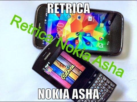 Retrica Nokia Asha