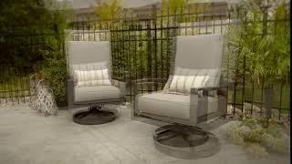 Lyndale Swivel Rocking Chairs Beauty