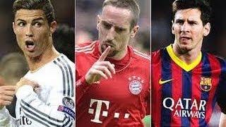Ballon d'Or 2013 - Messi vs Ronaldo vs Ribery