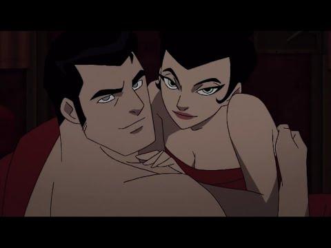 """Бэтмен и Женщина Кошка, имитируют секс """"Бэтмен: Готэм в газовом свете"""""""