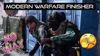 Modern Warfare Finisher | Kaybee did what?!