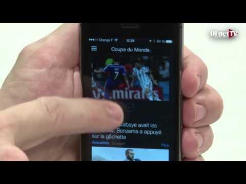 Yahoo Sport  : ne manquez pas une miette du mondial (test appli smartphone)