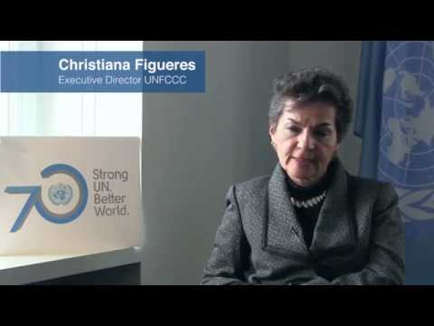 Question to Christiana Figueres: What does UN@70 inspire in you?