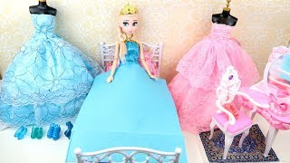 💙BARBIE PRINCESS HOUSE💙ELSA ANNA TODDLERS FROZEN💙RAPUNZEL💙BUNK BED💙DISNEY DOLLS💙FASHION DRESSES