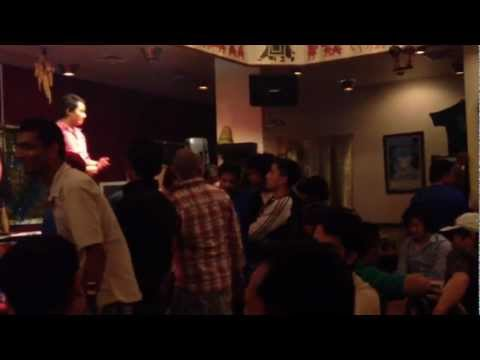 Nepali Lok Dohori Bar, Dubai Hd video