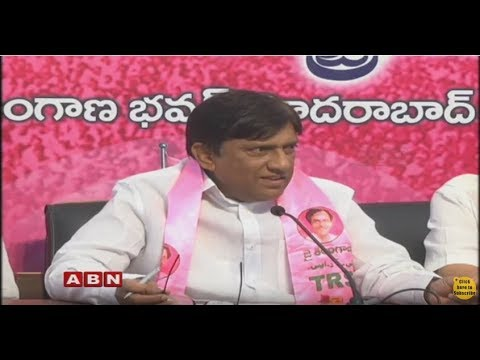 TRS MP Vinod Kumar Press Meet | Hyderabad | ABN Telugu