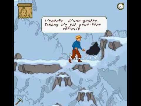 Soluce Tintin au Tibet partie 5/9 - Épave + Grotte