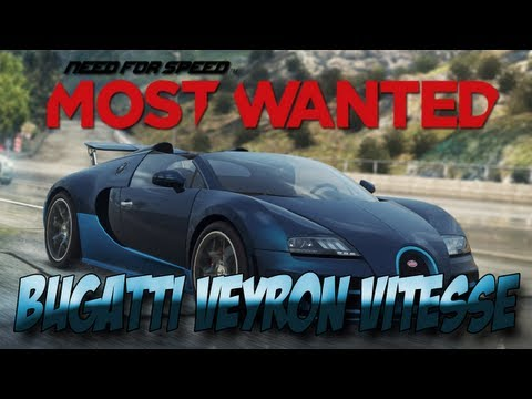 Need For Speed Most Wanted 2012: Bugatti Veyron Vitesse