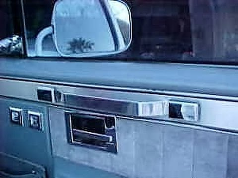 0 How to restore your 1971 1991 GM truck Blazer,  interior Door Handles or Pull straps inexpensive