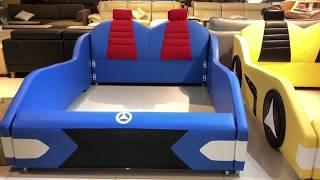 Giường Trẻ em - Siêu Xe-  GOBY