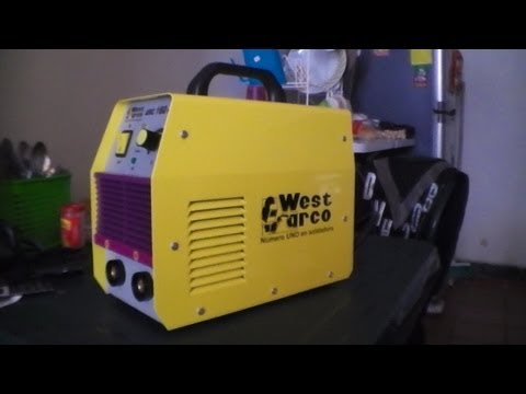 Soldador Inversor West Arco 160 Mini (West Arco welding inverter)