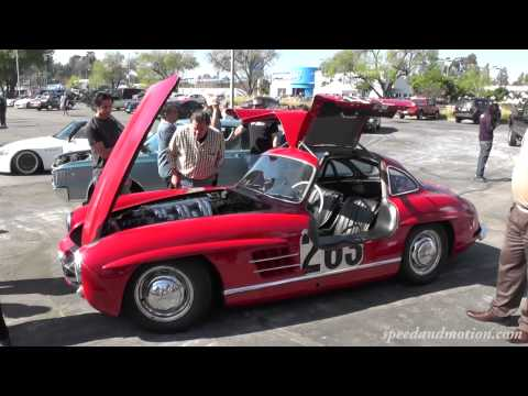No Garage Queen – Jay Leno's 1955 Mercedes-Benz 300SL Gullwing Coupe at Supercar Sunday