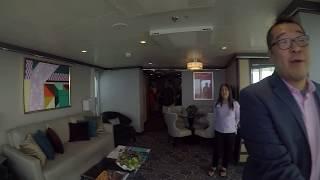 RCCL Symphony of the Seas 1 Bedroom Aqua Suite