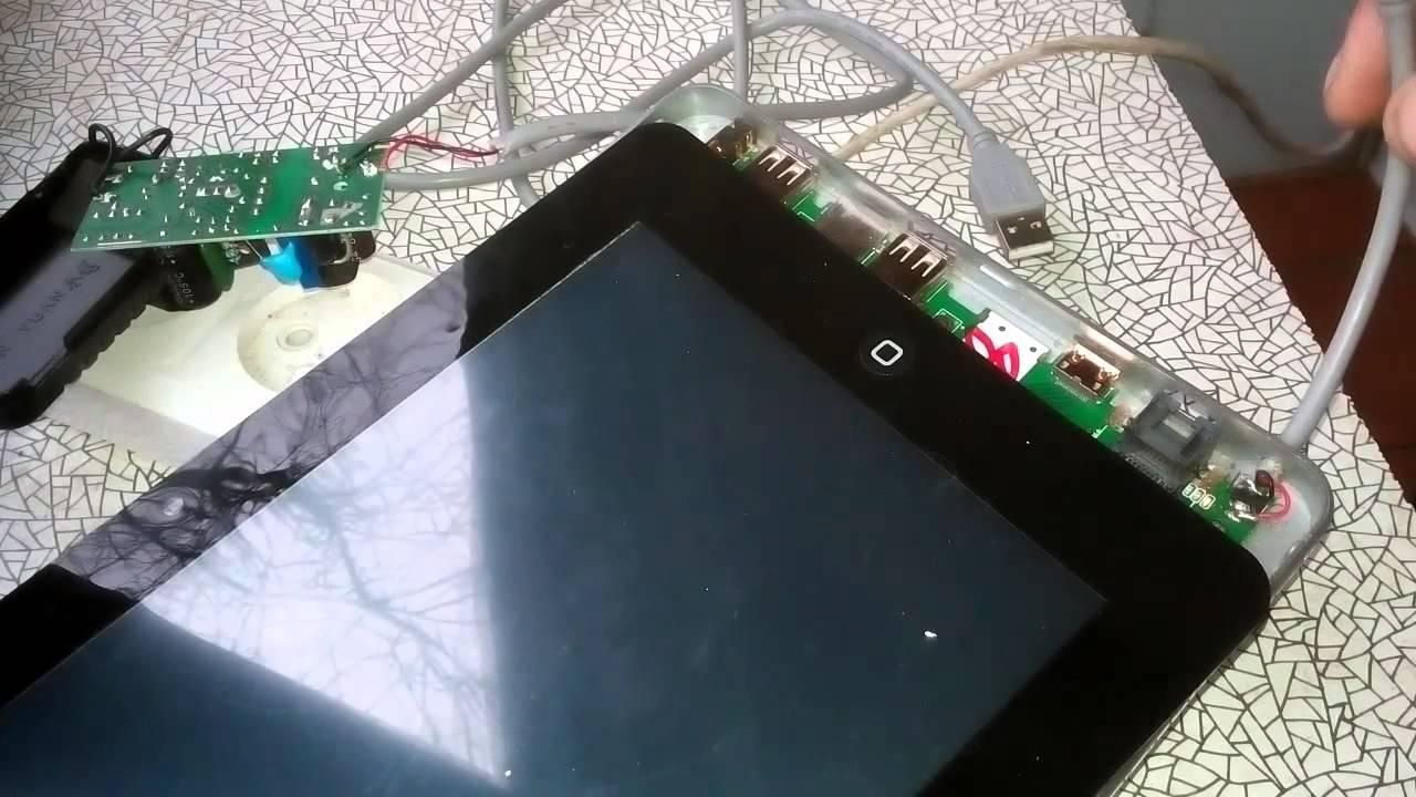 ремонт зарядного устройства планшета своими руками - YouTube