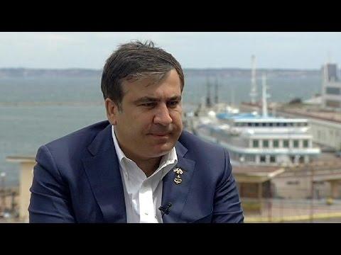 Губернатор Одессы Саакашвили: потерям область -- вся Украина окажется в беде