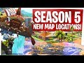 Season 5 New Fortnite Map Locations! - Paradise Palms, Lazy Links, Viking Village & More! thumbnail