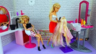 Barbie Girl Doll Hair Style Salon - Hairstyles Barbie dolls I Play dolls