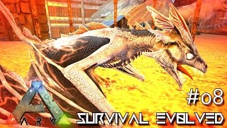 ARK: SCORCHED EARTH - BABY WYVERN HATCHING !!! E08 (ARK SURVIVAL EVOLVED GAMEPLAY)