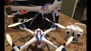 JJRC X6 Tarantula unboxing, flight, and camera test