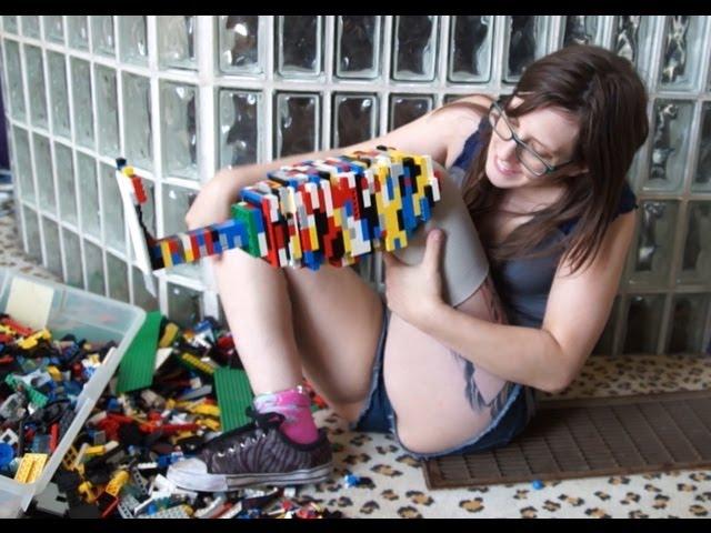 AmputeeOT: My Legoleg -  amputee prosthetic leg made with Lego bricks (legos)