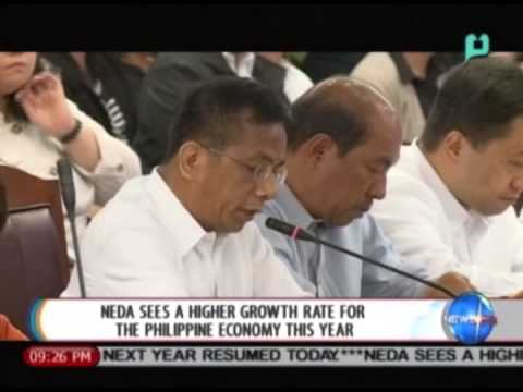 NewsLife: NEDA sees a higher growth rate for the Philippine economy this year || Aug. 7, 2014