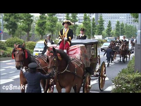 馬車で大使を送迎する日本の礼遇にブルネイ人が感動【海外の反応】