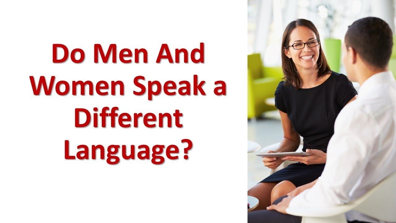 why women speak differently than men Task: how and why do women and men speak differently what explanations do different approaches in sociolinguistics provide for the differences in language use by them.