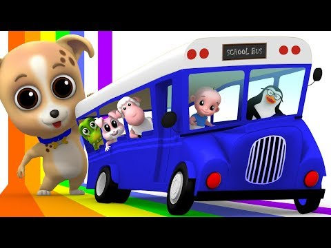 Wheels On The Bus | Junior Squad | Kindergarten Songs | Nursery Rhymes For Babies by Kids Tv