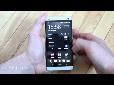 HTC One hands-on with Sense 5.0